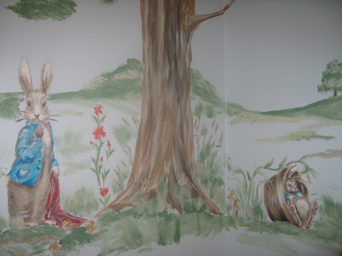 Blog for Beatrix potter wall mural